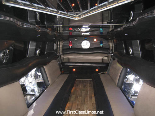 Hummer H2 Limo - Serving Cleveland, Columbus, Toledo, and Pittsburgh