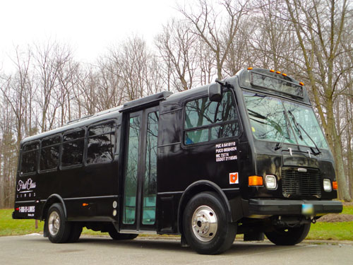 First Class Limos 28 Passenger Party Bus Big Limo Bus