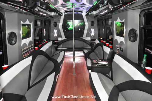 party bus in Cleveland