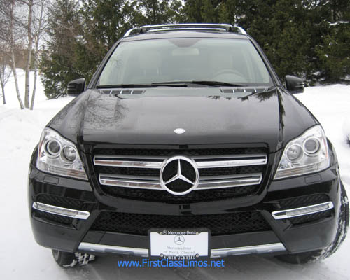 First class limos mercedes gl350 blue tec cleveland ohio for Mercedes benz of akron hours