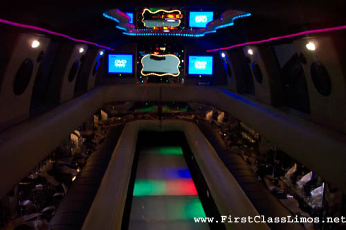 Pittsburgh Escalade Limo King and Queens captains chairs - heated seats with
