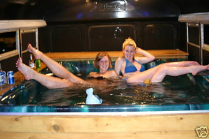 hot tub party bus