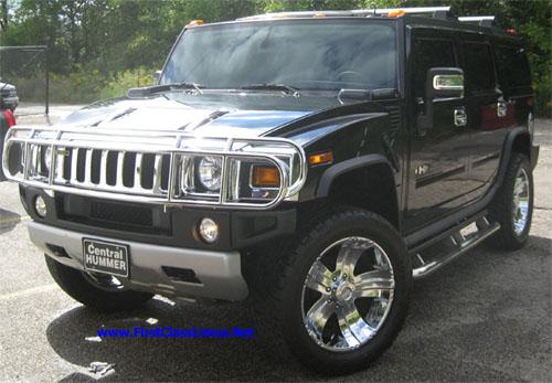 2010 Black Hummer H2