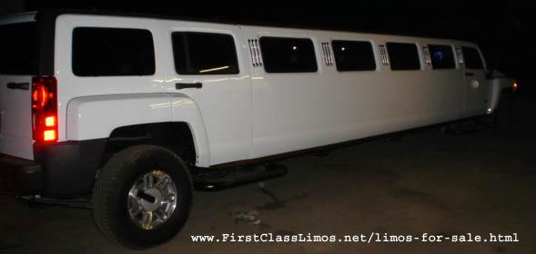 Hummer h3 limo