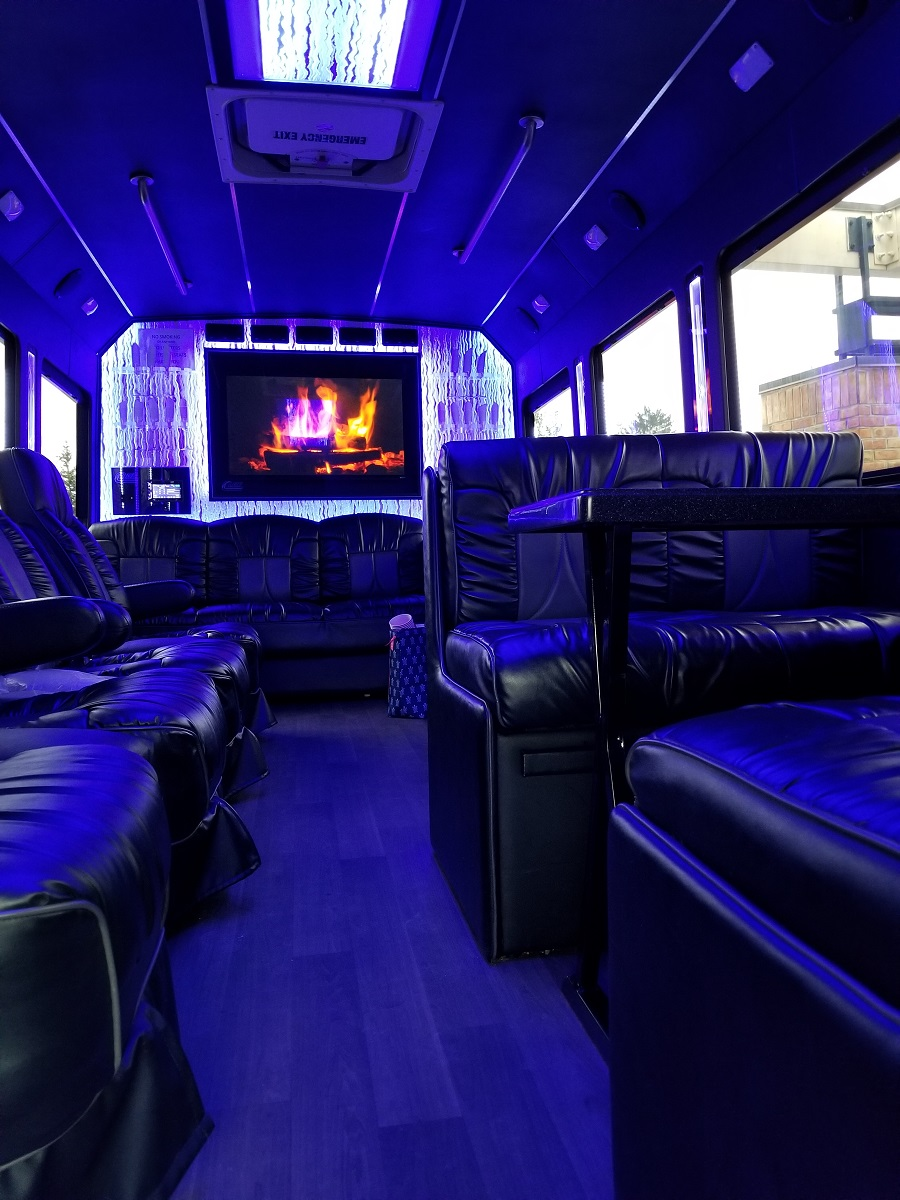First Class Limos Luxury Limo Coach 16 18 Passenger