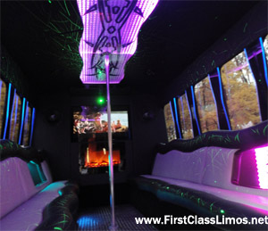 limo bus