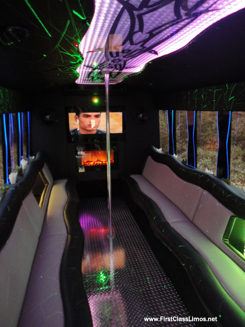 Ohio and PA Limousine Bus