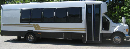 Akron limo buses