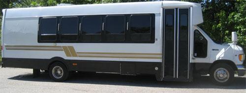 Akron limo buses